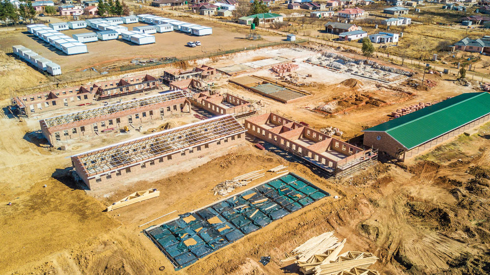 Temi Construction – We Deliver – Construction of Tholang SSS