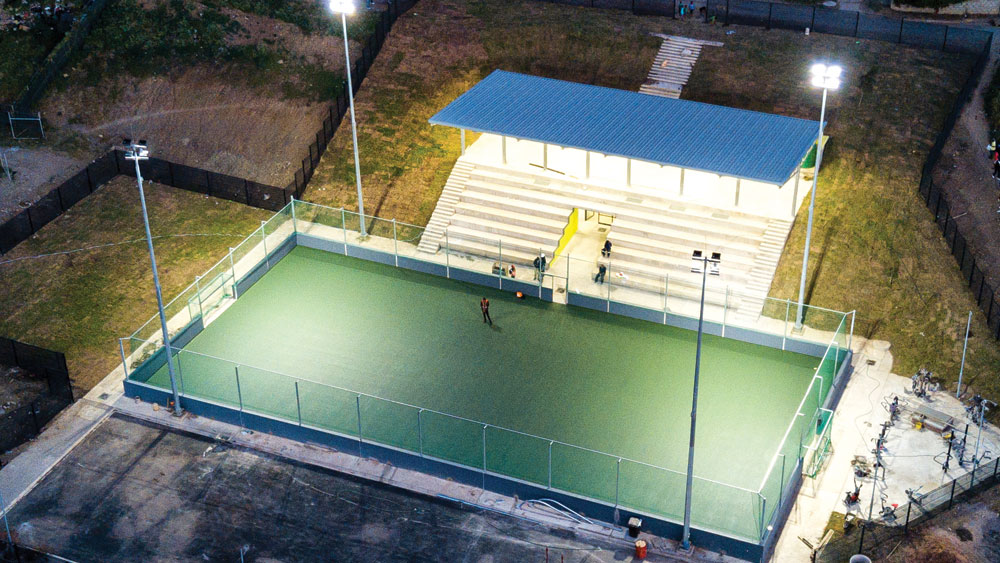 Temi Construction – We Deliver – Waterloo Sports Complex
