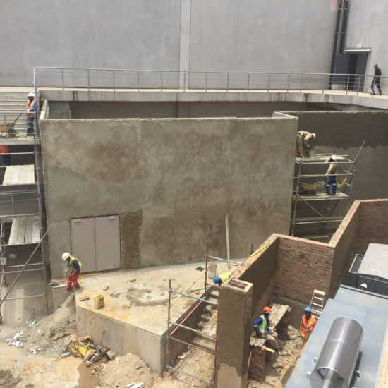 Temi Construction - Coricraft extension at The Mall of The South