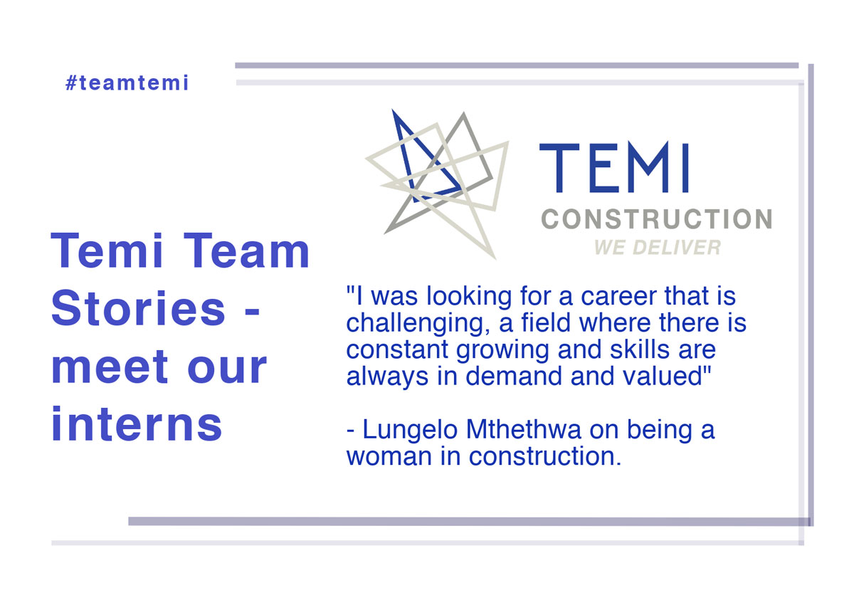 Temi Team: Intern Stories – Lungelo