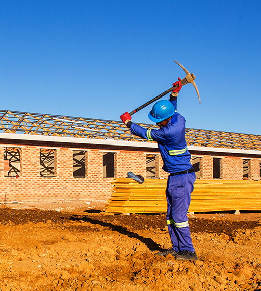 100% black-owned construction company in South Africa - Temi Construction