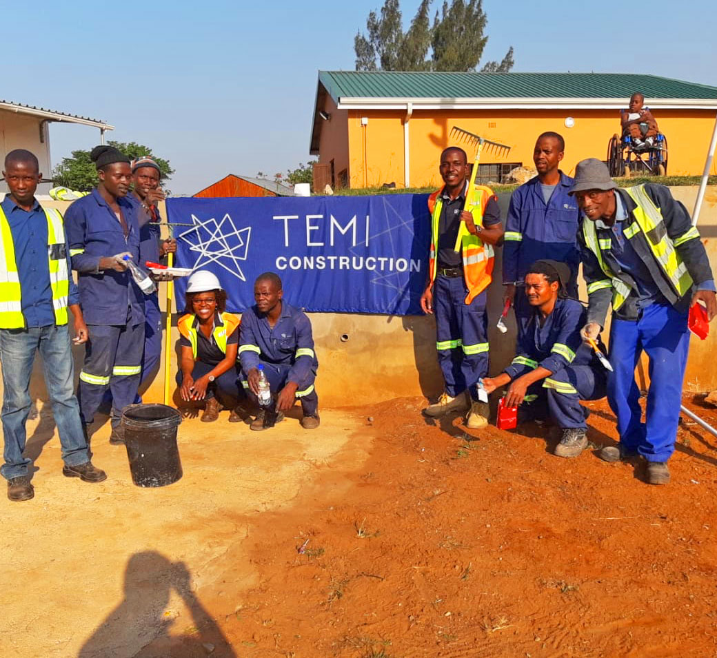 Temi Construction at the Mason Lincoln Special School