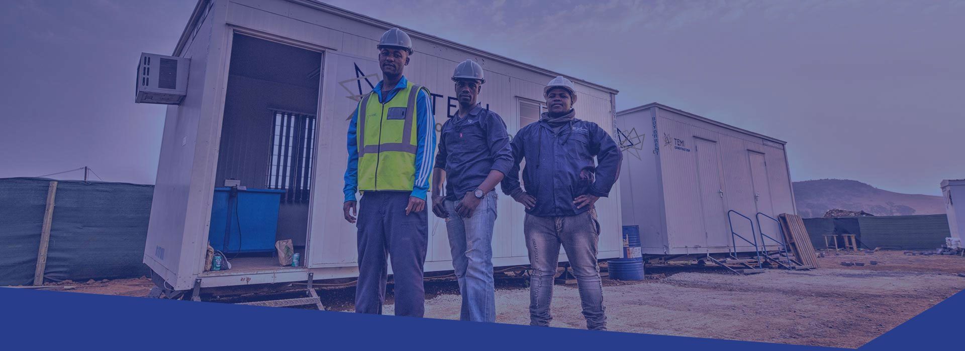 Temi Construction 100% black-owned construction company in South Africa
